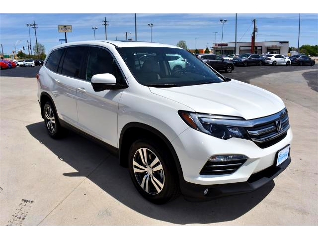 new 2017 honda pilot ex l awd suv in amarillo h2399 brown honda. Black Bedroom Furniture Sets. Home Design Ideas